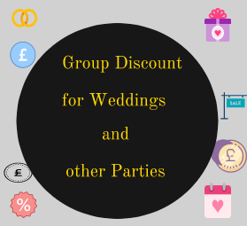 wedding discounts
